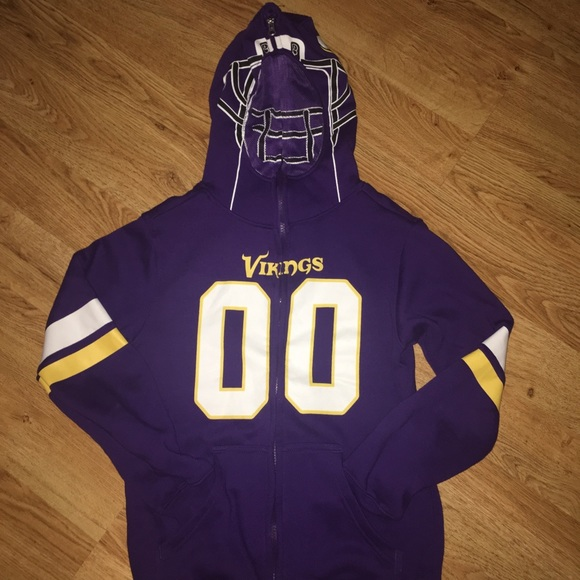 competitive price b9f8d a92b2 Minnesota Vikings full zip up hoodie